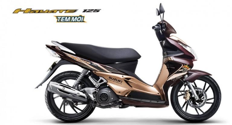 Đánh giá xe Suzuki Hayate 125 chi tiết hình ảnh giá bán thị trường 1 768x415 Đánh giá xe Suzuki Hayate 125, chi tiết hình ảnh, giá bán thị trường