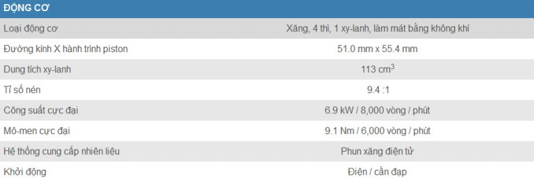 Đánh giá xe Suzuki Viva 115 Fi chi tiết hình ảnh giá bán thị trường 2 768x266 Đánh giá xe Suzuki Viva 115 Fi, chi tiết hình ảnh, giá bán thị trường