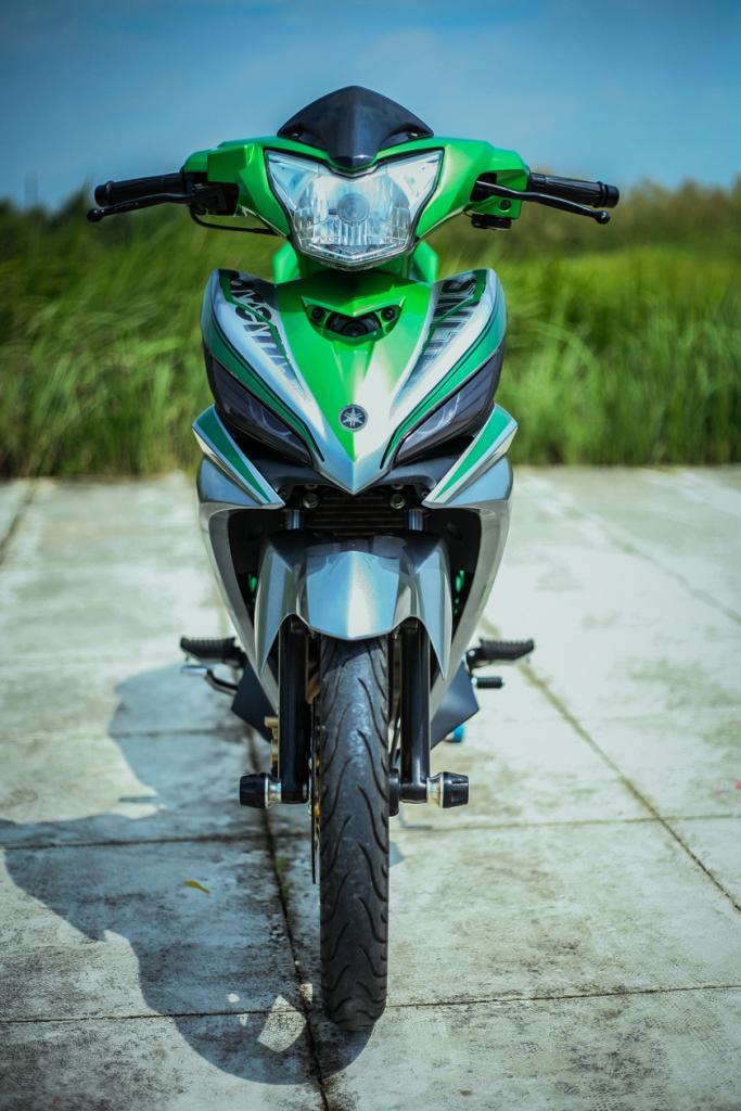 1 11 Exciter 135 độ đẹp với cảm hứng của tông màu Kawasaki Z1000
