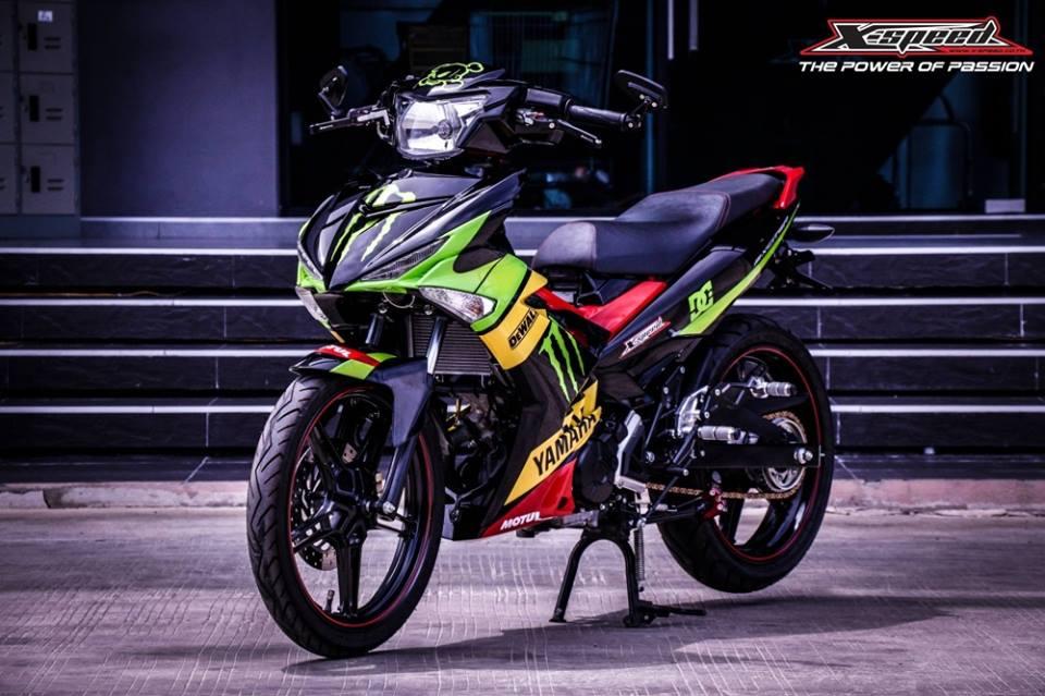 13442246 1632802547037586 8655879913080285973 n Ngắm Yamaha Exciter độ với sơn airbrush 7 màu của 1 biker Thailand