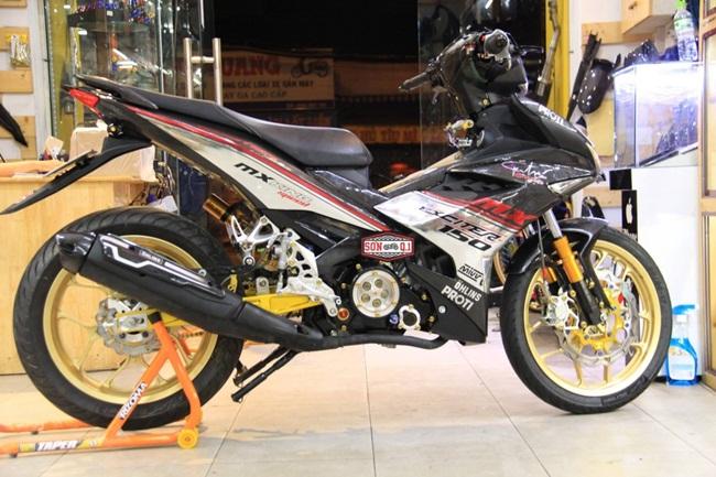 Exciter do giadinhvietnam 2 Ngắm chiếc Exciter 150 độ đẹp & phong cách với dàn áo Carbon
