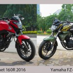 Honda hornet and FZ-S (1) copy