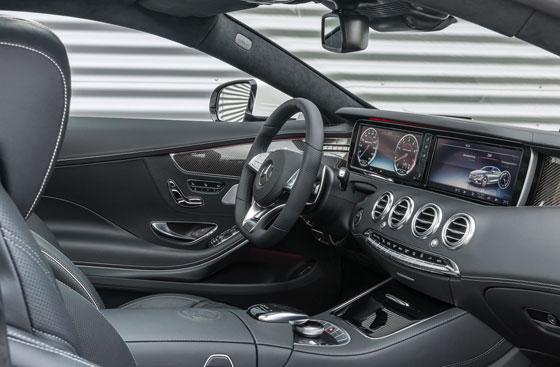 Mercedes S63 AMG Coupe 20 Mercedes S63 AMG Coupe chiều khách hàng với 2 tuỳ chọn