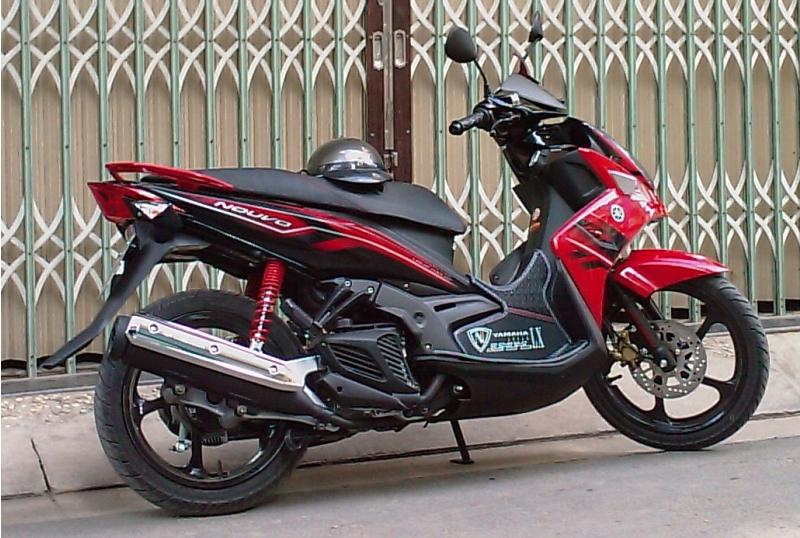 Nouvo 135 2008 Nên chọn mua xe tay ga nào cho nữ của hãng Yamaha