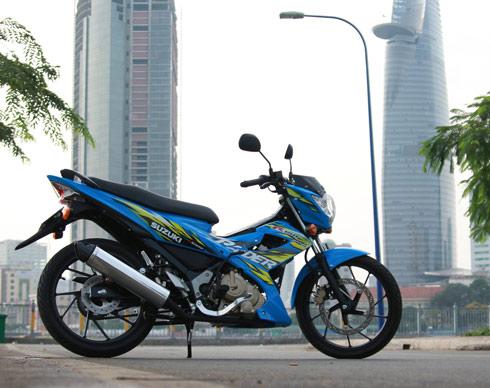 Suzuki Raider 2 5181 1390283214 Suzuki Raider 150 có những ưu và nhược điểm gì?