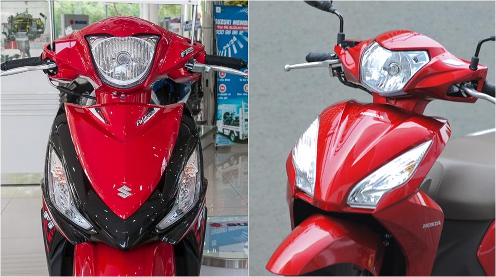 Suzuki Address and Honda Vision Chọn mua Honda Vision hay Suzuki Address? xe nào tốt hơn
