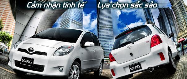 Toyota Yaris xuất hiện phiên bản mới tại Việt Nam 1 Toyota Yaris xuất hiện phiên bản mới tại Việt Nam