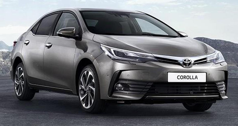 Toyota Corolla 2017 1 Toyota giới thiệu Corolla 2017 phiên bản mới đến Đông Nam Á