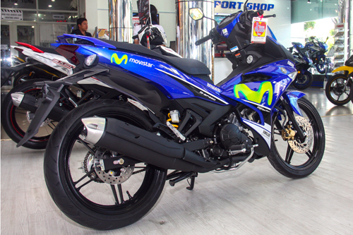 Yamaha Movistar giadinhvietnam 1 Ngắm mẫu Exciter Movistar độ phong cách nhẹ nhàng
