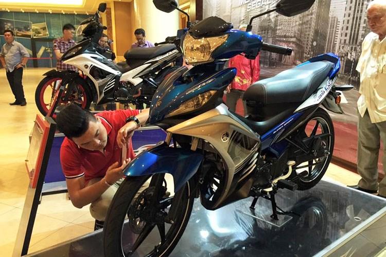 chi tiet xe no yamaha 135lc 2016 gia 38 trieu dong Yamaha giới thiệu xe 135LC 2016 giá 38 triệu đồng