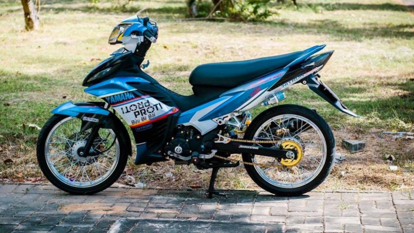 exciter 135 do cuc chat tai quang ngai Hình ảnh xe Exciter 135 độ cực chất tại Quảng Ngãi