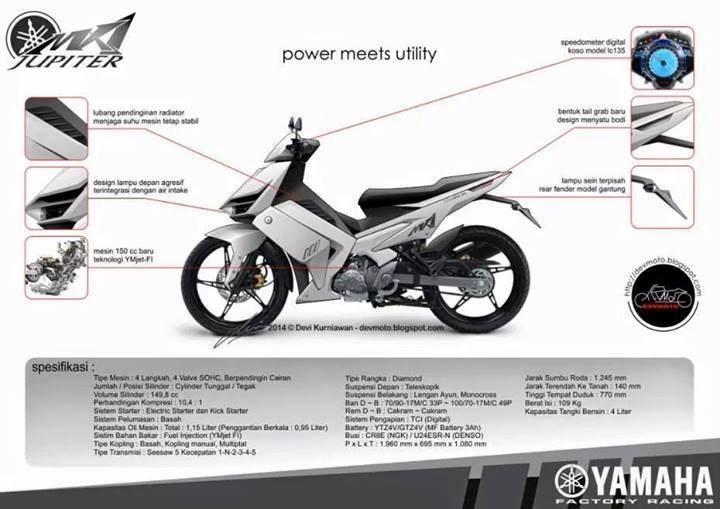 exciter 175cc Rò rỉ hình ảnh Exciter 175 Concept mới của Yamaha?