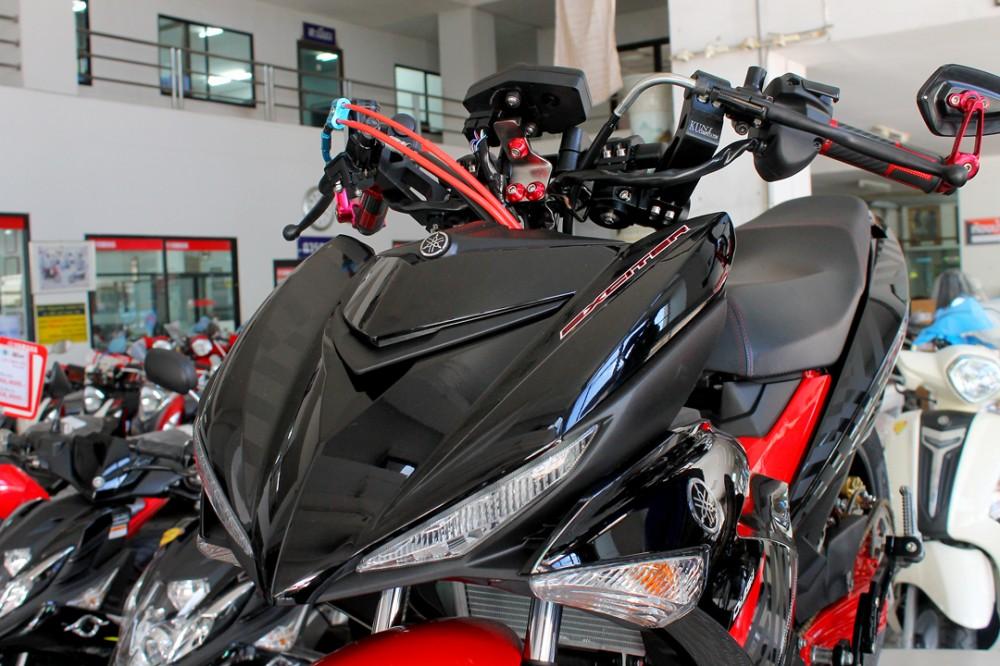 exciter 2010 do phong cach h2c day the thao va noi bat 2 Ngắm chiếc Yamaha Exciter 150 độ tại Thái cực đẹp & độc