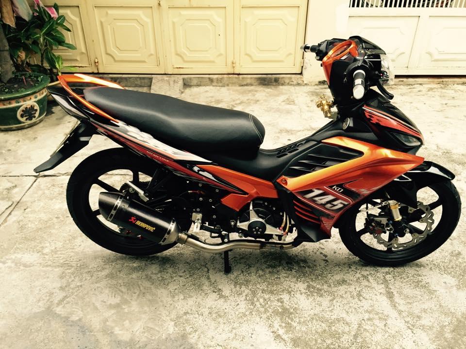 exciter do cuc khung voi loat do choi hang hieu 7120 1422593000 54cb0be82a982 Yamaha Exciter 135 độ cực ngầu của một biker Việt Nam