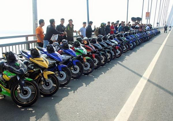 gia xe Exciter 150 tai Ha Noi moi nhat giadinhvietnam 1 Giá xe Yamaha Exciter 150 tại các đại lý Hà nội bao nhiêu?
