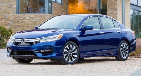 honda accord hybrid 2017 anh chinh Giá xe Honda Accord Hybrid 2017 từ 29.605 USD với 3 phiên bản