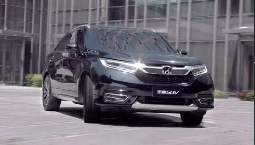 honda cong bo them thong tin hot cua suv dau bang avancier Honda Avancier, nước bài mới trong mẫu xe SUV của hãng Honda