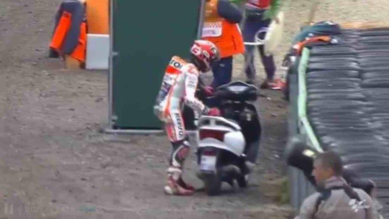 honda lead bat ngo xuat hien tai giai dua xe motogp3 768x432 Honda Lead bất ngờ xuất hiện tại giải đua xe MotoGP