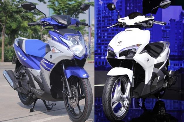 image 1465889322 hinh 3 Vì sao Yamaha Nouvo lại bị Honda Air Blade 'hạ bệ'?