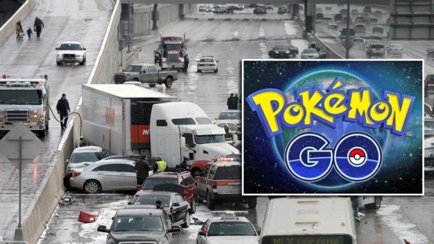 image 1468056123 hinh 1 Mải chơi Pokemon Go, chàng trai gây nên vụ tai nạn xe hơi liên hoàn