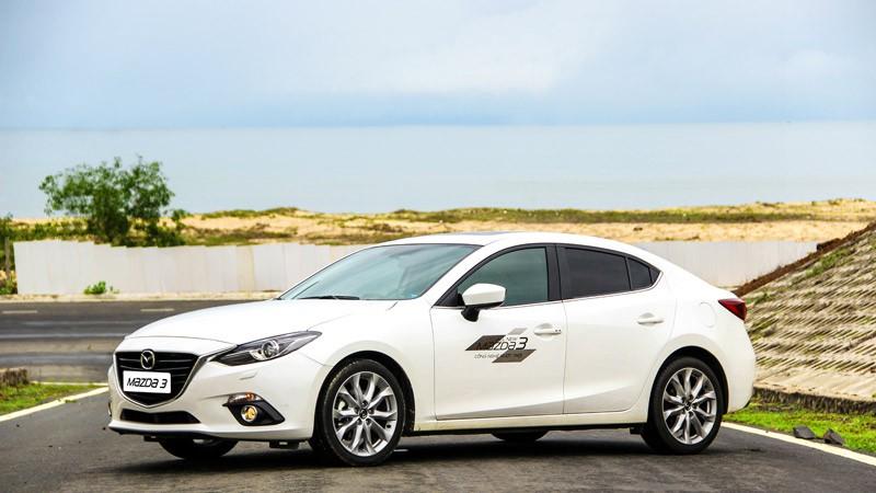 mazda 3 4756 Giá xe Mazda 3 và Mazda 6 tháng 6/2016