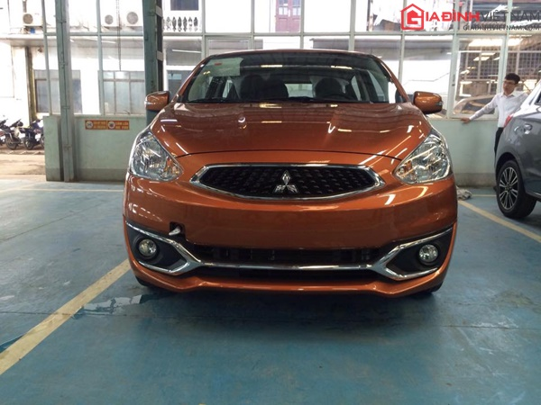 mitsubishi mirage 2017 co gi moi giadinhvietnam.com  Mitsubishi Mirage 2017 có gì mới? giá xe bao nhiêu?