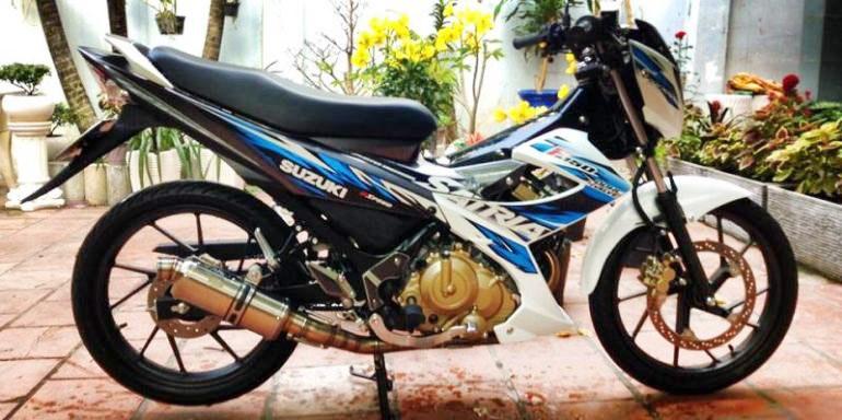 raider do kienthuc.net .vn1 hxlq Những mẫu Suzuki Raider 150 độ cực đẹp & ấn tượng