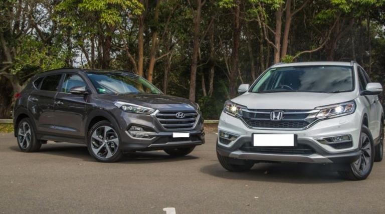 so sanh hyundai tucson va honda cr v 2016 768x427 So sánh Hyundai Tucson và Honda CR V 2016