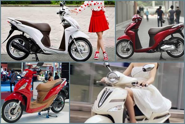 top xe tay ga cho nu duoi 30 trieu dong giadinhvietnam.com  Những mẫu xe tay ga cho gia đình tốt nhất hiện nay