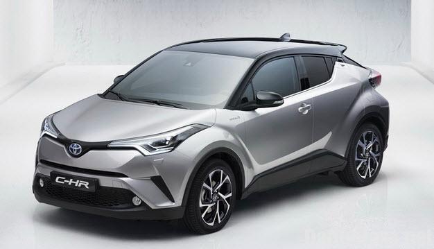 toyota c hr 2017 6 Đánh giá xe Toyota C HR 2017, hình ảnh, vận hành & giá bán thị trường