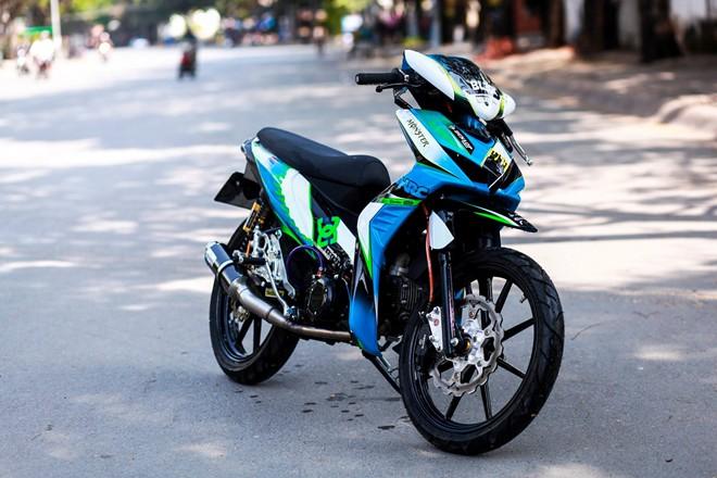 wave2 Hình ảnh Honda Wave RSX sơn tem đấu của biker Sài Gòn phong cách