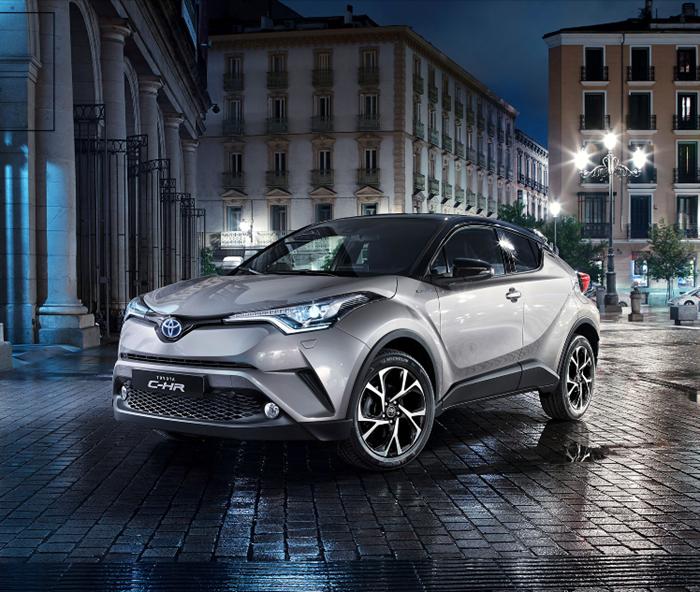 xedoisong vn toyota chr 2 bmjk Toyota C HR 2017 và những ưu điểm nổi bật về thiết kế