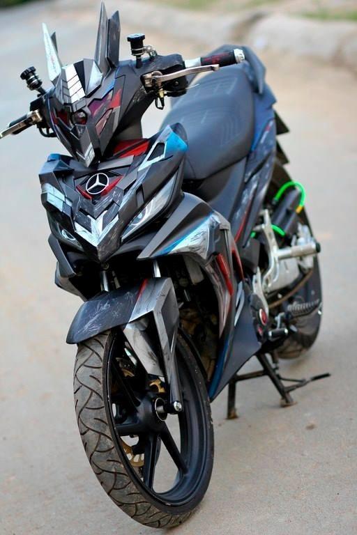 ya1 Top 3 mẫu xe độ Yamaha Exciter theo phong cách Robot cực đẹp
