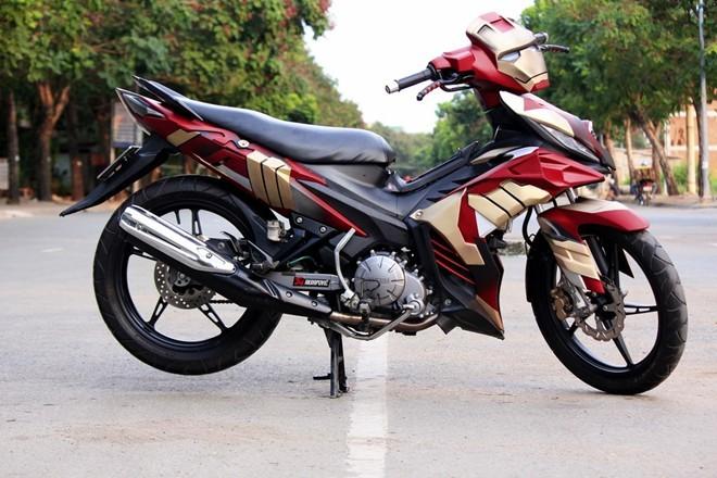 ya3 Top 3 mẫu xe độ Yamaha Exciter theo phong cách Robot cực đẹp