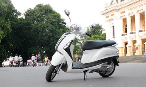 yamaha grande 1 4200 14485305411 Lối nào để Yamaha Grande có thể cạnh tranh SH Mode Honda