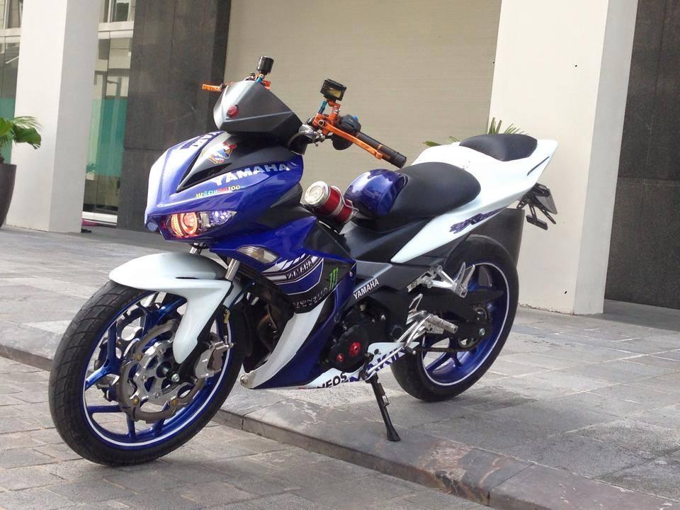 yamaha x1r do chat cua biker quang ninh 9127 1452743465 56971b2963826 Ngắm mẫu xe Exciter 135 độ theo phong cách X1R cực chất
